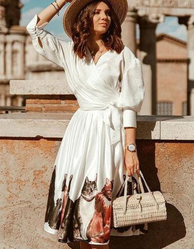 Designer western wear skirt top