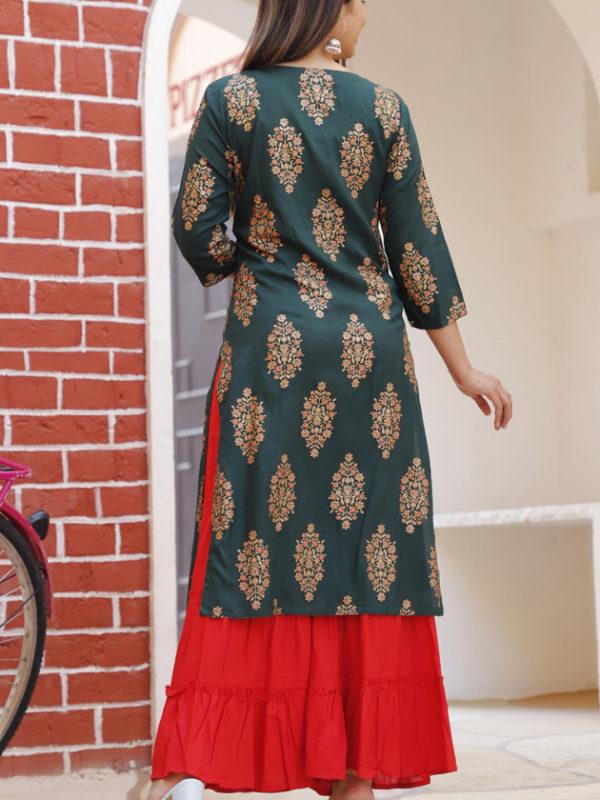 blue red skirt 3