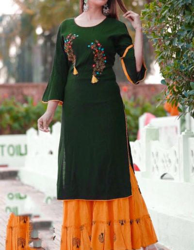 green orange sharara