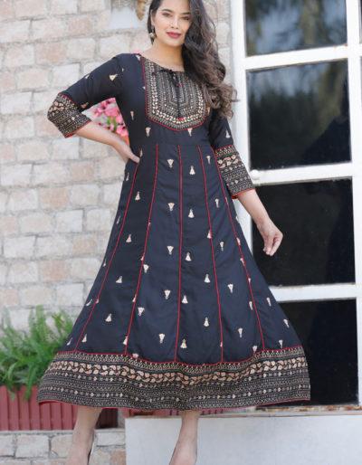 Designer long Anarkali kurti